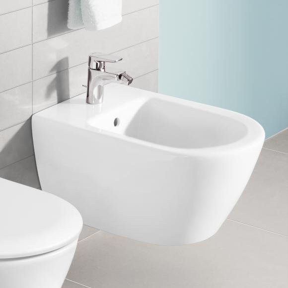 villeroy boch subway wand bidet wei alpin ceramicplus 540000r1 preisvergleich ab 203 99. Black Bedroom Furniture Sets. Home Design Ideas