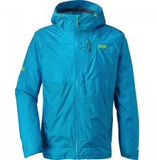 Outdoor Research Men's Helium HD Jacket Hydro / Lemongrass