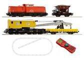 Roco Digital Starter Set Diesellokomotive 204 mit einem Bauzug DB (41363)