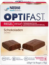Nestlé Nutrition OPTIFAST Riegel Himbeer-Kirsche 6er-Packung (6 x 60 g)