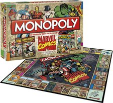 Winning Moves Monopoly Marvel Comics Collectors Edition