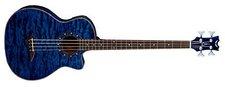 Dean Guitars Exotica A/E Bass Quilt Ash