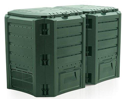 prosperplast thermo komposter 800 liter preisvergleich ab 49 29. Black Bedroom Furniture Sets. Home Design Ideas