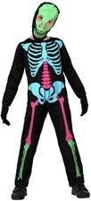 Smiffys Kinderkostüm Punky Multi-Neon Skeleton