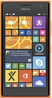Nokia Lumia 730 Dual Sim Orange ohne Vertrag