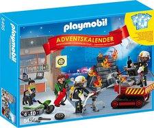 Playmobil Adventskalender Feuerwehreinsatz mit Kartenspiel