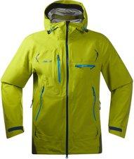 Bergans Storen Jacket Men Lime / Green Tea / Bright Sea Blue