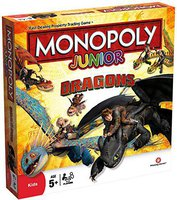 Winning Moves Monopoly Junior Dragons ( englisch)