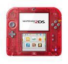 Nintendo 2DS rot transparent