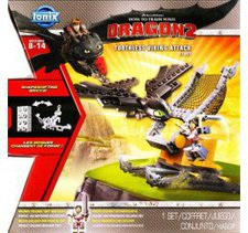 Ionix Dragon 2 Toothless Viking Attack