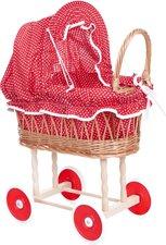Egmont Toys Stubenwagen rot-weiß gepunktet