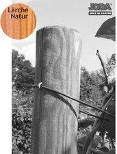 Jorkisch Zaunpfahl rund Lärche natur BxH: 12 x 175 cm