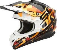 Scorpion VX-15 Evo Air Grid schwarz/orange