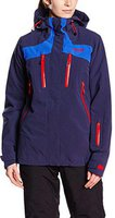 Bergans Oppdal Ins Lady Jacket Navy / Cobalt Blue / Red