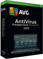 GRISOFT AVG AntiVirus 2015 (3 Geräte) (DE) (Win/iOs/Android)