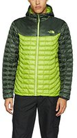 The North Face Men's Thermoball Hoodie Jacket Green