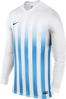 Nike Striped Divison Trikot Herren kurzarm university blue/white
