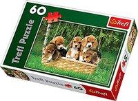 Trefl Fünf Beaglewelpen