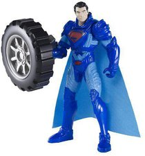 Mattel Man of Steel Power Attack Deluxe Wheel Wrecker Superman (CCJ59)