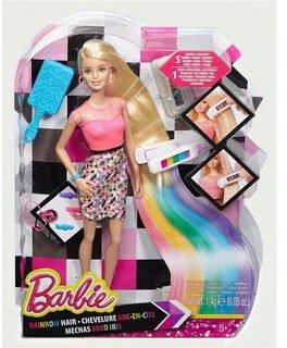Barbie Regenbogen-Haar