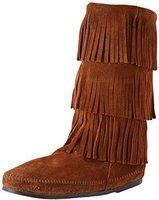 Minnetonka 3-Layer Fringe Boot brown