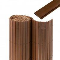 Jarolift Premium Sichtschutzmatte PVC mit Abdeckprofil BxH: 500 x 100 cm