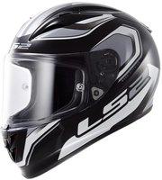 LS2 FF323 Arrow R Geo schwarz/weiß