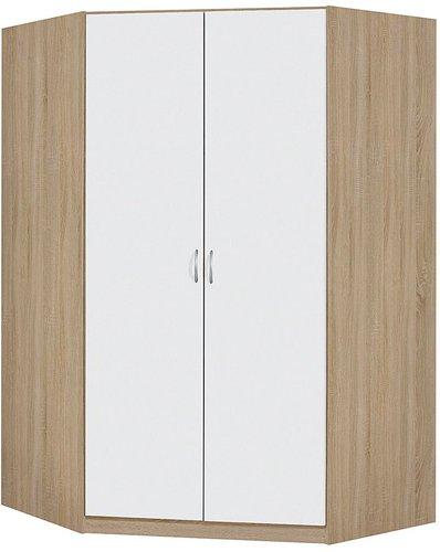 rauch pack s case eckschrank alpinwei sonoma eiche am654 3n23 g nstig. Black Bedroom Furniture Sets. Home Design Ideas