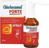 gsk Chlorhexamed Forte alkoholfrei 0,2% Spray (50 ml)