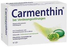 Schwabe Carmenthin bei Verdauungsstörungen magensaftresistente Weichkapseln (42 Stk.)