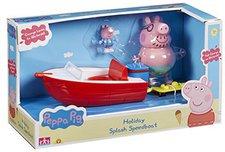 Peppa Pig Wutz Holiday - Schnellboot