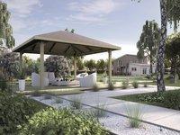 weka Pavillon Paradies 2 Größe 2 (4,80 x 4,80 m)