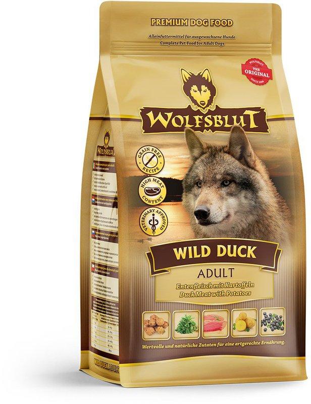 wolfsblut wild duck adult preisvergleich ab 3 59. Black Bedroom Furniture Sets. Home Design Ideas