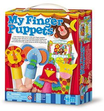 4M My Finger Puppets (4575)