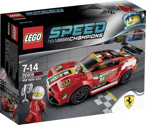 lego speed champions ferrari 458 italia gt2 75908 preisvergleich ab 37 20. Black Bedroom Furniture Sets. Home Design Ideas