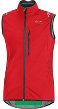 Gore Element Windstopper Active Shell Weste red