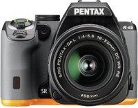 Pentax K-S2 Kit 18-50 mm schwarz/orange
