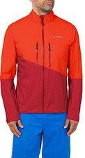 Vaude Men's Tremalzo Rain Jacket glowing red