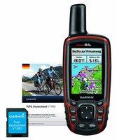 Garmin GPSMap 64s mit Topo Deutschland V7 Pro auf Speicherkarte