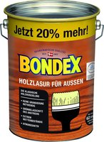 bondex dauerschutz lasur 4 liter diverse dekore. Black Bedroom Furniture Sets. Home Design Ideas