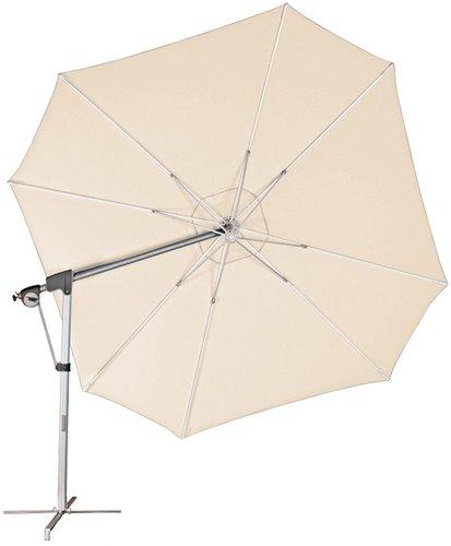 Doppler Protect Ø 400 cm Pendelschirm beige/natur