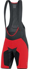 Gore Alp-X Pro 2in1 Shorts+ red