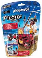 Playmobil Pirates - Rote App-Kanone mit Freibeuter (6163)