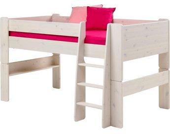Steens Etagenbett Weiß : Steens furniture ltd halbhochbett 613 13 weiß preisvergleich ab
