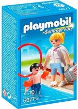 Playmobil Schwimmmeisterin (6677)