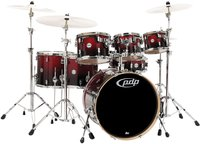 Pacific Drums & Percussion Concept Maple Red To Black (CM7)