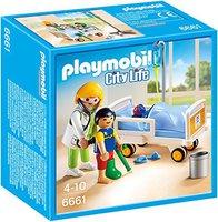 Playmobil City Life - Ärztin am Kinderkrankenbett (6661)