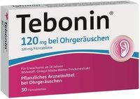 Schwabe Tebonin 120 mg bei Ohrgeräuschen Filmtabletten (30 Stk.)