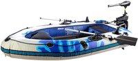 Speeron Schlauchboot mit Elektro-Motor 2,5PS / 40lbs