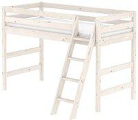 Flexa Mittelhohes Bett Classic (mit schräger Leiter)